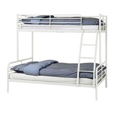 Bunk bed frame, white  			  	  	  		  			  				IKEA FAMILY  			  			   	  		  			   					  			  		  		  	Regular price  	  			  				  					$179.00