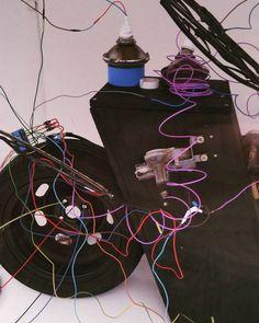 Presque fini de monter l'installation #kickart #machinesurbaines avec mes amis #phares #roue #cableselectriques #baterrie #balaisessuieglace