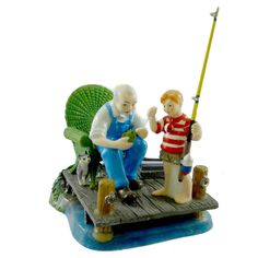 Dept 56 Accessories Gone Fishing Village Accessory