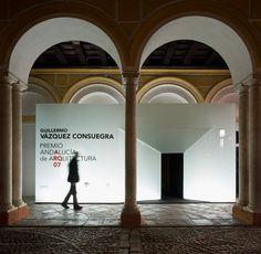Exposición Premio Andalucía de Arquitectura 07 Signage, Retail, Home Decor, Door Prizes, Architecture, Decoration Home, Room Decor, Billboard, Home Interior Design