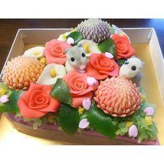 #和菓子ケーキ - photos Instagram