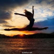 Don't let your feet touch the ground, try to fly and one day it will happen!