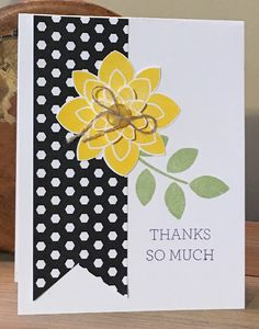 Trinity Designs: Happy Mail! A Sweet Thank You Note, Crazy About You
