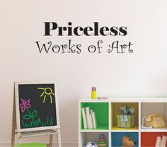 Playroom Vinyl Decal  Childrens Art Wall Decal   by LCvinyldesigns, $16.00