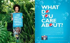 Pepsi:  Refresh Project, What do you care about?