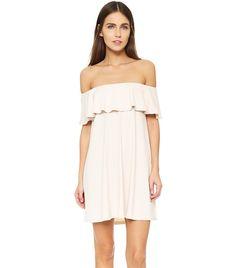 Susana Monaco Fifi Off the Shoulder Dress