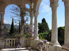 Giulio Einaudi at the Hanbury Botanical Gardens - Italian Ways Beaux Arts Architecture, Ancient Greek Architecture, Gothic Architecture, Places To Travel, Places To See, Beautiful World, Beautiful Places, Foto Fantasy, Italian Garden