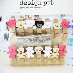 Cheap bear wallpaper, Buy Quality bear baby shower favors directly from China clip bag Suppliers:   Material: woodShapes: bear.Size: 3.5cmColor: as picture. 14pcs per pack with 1.4m hemp rope.