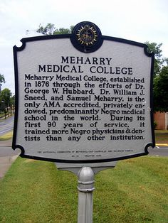 Meharry Medical College is the oldest historically Black Medical School in the…