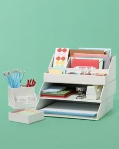 Get back to school and back to routine with these great organization ideas from Martha Stewart.