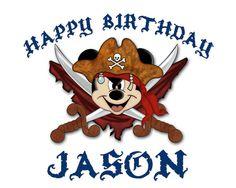 Disney+Mickey+Pirate+Birthday+Iron+On+Transfer+by+XochitlMontana