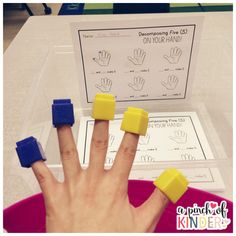 Decomposing Numbers: Decomposing 5 On Your Hand