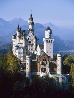 Neuschwanstein Castle, Fussen Bavaria, South Germany places-i-have-been Oh The Places You'll Go, Places To Travel, Neuschwanstein Castle, Famous Castles, Castle Ruins, Castle House, Medieval Castle, Framing Photography, Art Photography