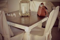 Home by Ally: Kitchen Table Redo