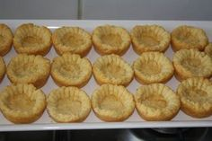 Cookie Recipes, Snack Recipes, Snacks, Milktart Recipe, Mini Tart Shells, Easy Tart Recipes, African Dessert, Butter Cookies Recipe, Mini Pies