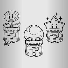 Pencil Art Drawings, Cool Art Drawings, Art Drawings Sketches, Cartoon Drawings, Super Mario Tattoo, Super Mario Art, Super Mario Coloring Pages, Graffiti Doodles, Graffiti Characters