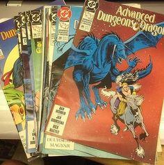 Lot of 15 Advanced Dungeons & Dragons DC Comics1989-1991 TSR Duursema Mishkin