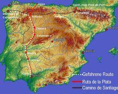 39 Camino Via De La Plata Ideas Camino De Santiago The Camino Santiago