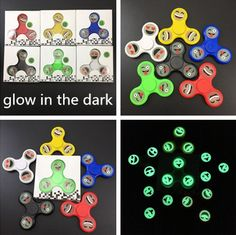 Wholesale Gag Toys & Practical Jokes - Fidget Hand Spinner - Emoji - Glow In The Dark. Gag And Practical Joke Toys, Wholesale Toys & Games, Enewwholesale.com