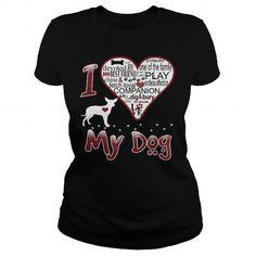 Cool  I LOVE MY DOG Xoloitzcuintli T shirt