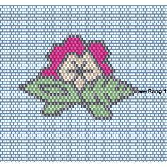 collier_tissage_brick_stitch_grille_fleur