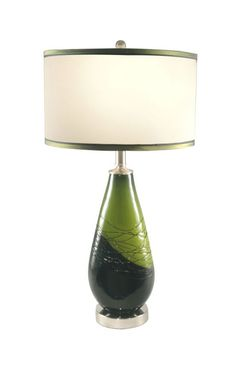 Dale Tiffany PG70363 Vineyard Green Table Lamp $130