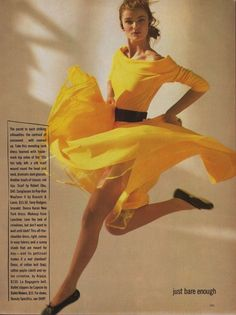 "From Buzzfeed's ""45 Reasons Why Supermodels Were Better In The '80s,"" but I do love that dress."