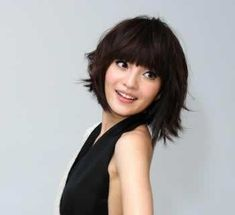 2011 most beautiful asia women s short  short hair round face short hairstyles 2011 | hairstyles