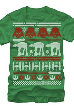Star-Wars-Christmas-Sweater-Mens-Graphic-T-Shirt-Fifth-Sun-0