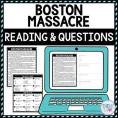 Ensure comprehension with this SELF-GRADING Boston Massacre DIGITAL Reading Passage and Questions for Google Classroom™. The non-fiction reading passage in digital format is delivered through Google Forms™ but a printable copy is inside as well! Topics include: The Boston Massacre and the causes of the Revolutionary War. #revolutionarywar #bostonmassacre #upperelementary #middleschool #digitalresource Christmas Fun Facts, Halloween Around The World, 7th Grade Classroom, Social Studies Activities, History Activities, Holiday Activities, Science Activities, Test Taking Strategies, Upper Elementary Resources