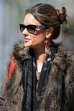 Alessandra Ambrosio & Chanel Sunglasses
