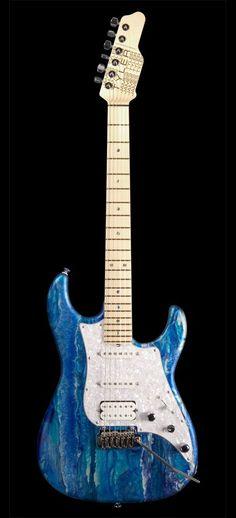 James Tyler Guitars Studio Elite HD Arctic Mint Shmear