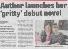 """Latest media coverage in the News Journal    """"Author launches first novel""""    http://www.klloveley.com/media-pr/media-coverage/"""