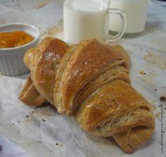 Az áfonya mámora: Teljes kiőrlésű croissant Croissant, Low Carb Recipes, Paleo, French Toast, Food And Drink, Snacks, Breakfast, Drinks, Diets
