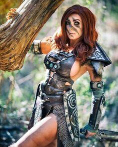 Aela the Huntress from Skyrim by Jessica Nigri : cosplaygirls