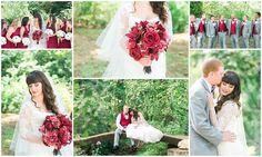 gray and red wedding, burgundy bridesmaid dresses, gray and red groomsmen, bridge, long sleeved wedding dress, wedding hair styles, outdoor wedding, backyard wedding, Keith & Melissa Photography, Lexington, KY wedding photographers