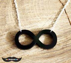 INFINITY Halskette Unendlich Kette Unendlichkeit Love Hipster Necklace ♥   eBay