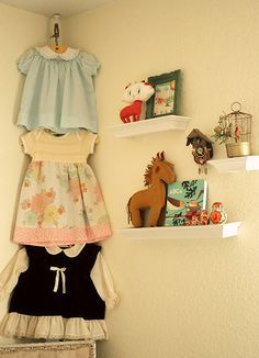 where can i find lil girls vintage dresses like these?? i like this idea or even to put in frames