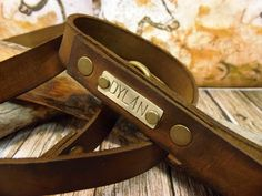 Dog Leash, Leather Dog Leash, Dog Leash Leather, Leather Dog Leash, Strong Leather Dog Leash, Personalized dog leash, Dog name plate. by VakalisCreations on Etsy https://www.etsy.com/listing/457021618/dog-leash-leather-dog-leash-dog-leash