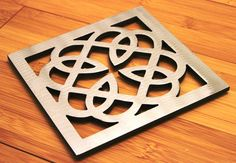 Celtic Knot Trivet Steel Mothers Day Irish by ApocalypseFab, $20.00