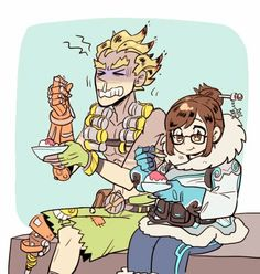 Mei and Junkrar