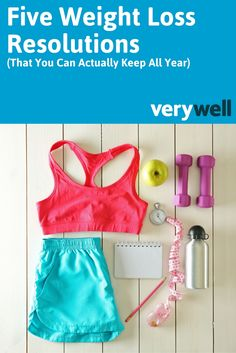 The reason exercise resolutions rarely last is that they're often unrealistic and unenjoyable. If you resolve to hit the gym every day, but you have a full-time job and hate working out in public, it's probably not going to happen. This list of five weight loss resolutions are easy to keep and work with your busy schedule.