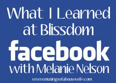 How to Grow Your Facebook Page via musingsofahousewife.com and @Melanie Nelson