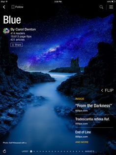 Flip through Blue by Carol Denton http://flip.it/3IzDW