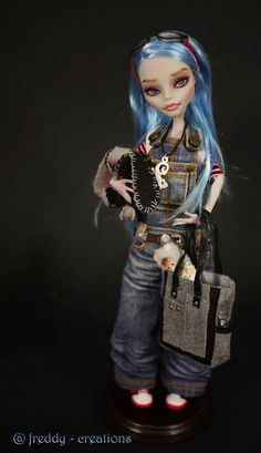 great monster high repaints