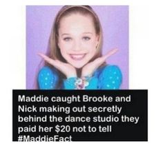 Can someone please tell me if this is true or not? Haha Can someone please tell me if this is true or not? Facts About Dance, Dance Moms Facts, Dance Moms Dancers, Dance Mums, Dance Moms Girls, Dance Moms Quotes, Dance Moms Funny, Dance Moms Comics, Dance Moms Costumes