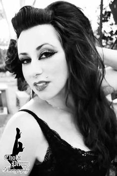 The always alluring Kitty De Chola Pinup!