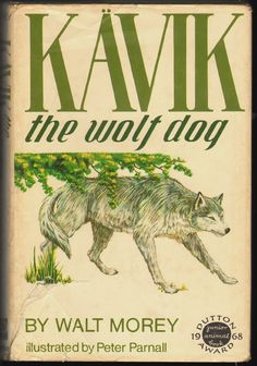 Another wonderful story of adventure and the love between animals and humans. A wolf dog who has been breed to fight endures great trauma and is rescued by a boy who ends up loving him.   Read our full review: http://www.plumfieldandpaideia.com/kavik-the-wolf-dog/