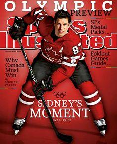 Our golden boy! Sidney Crosby.