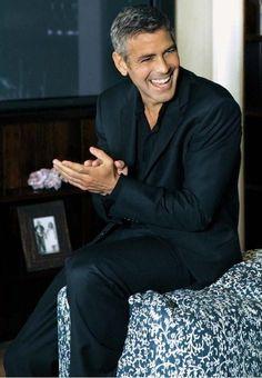 George Clooney.  So very handsome. #GeorgeClooney